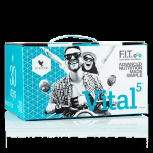 Vital 5 fit aloe vera pack forever living