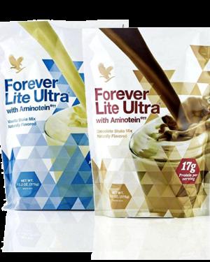 Lite ultra chocolat et vanille forever living