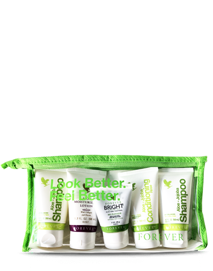 trousseau pack shampoo forever living