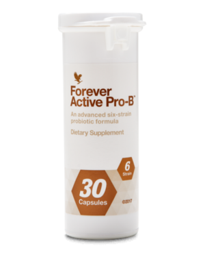 flacon de 30 capsules active pro-b forever living